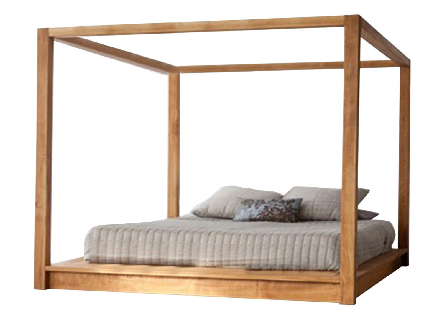 Łóżko z baldachimem Vilma/HOUSE&more