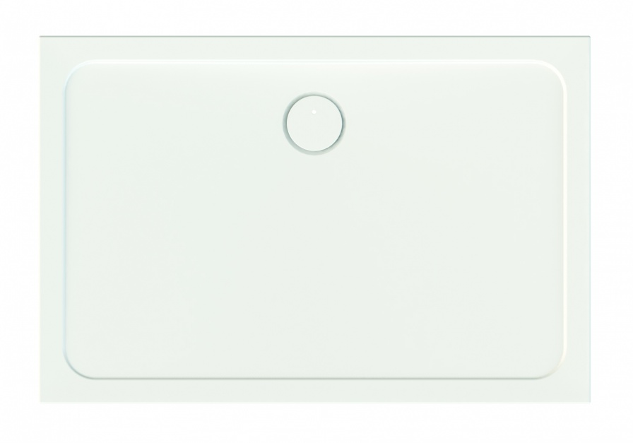Brodziki akrylowe Free Line B/Free o głębokości 2,5cm/Sanplast