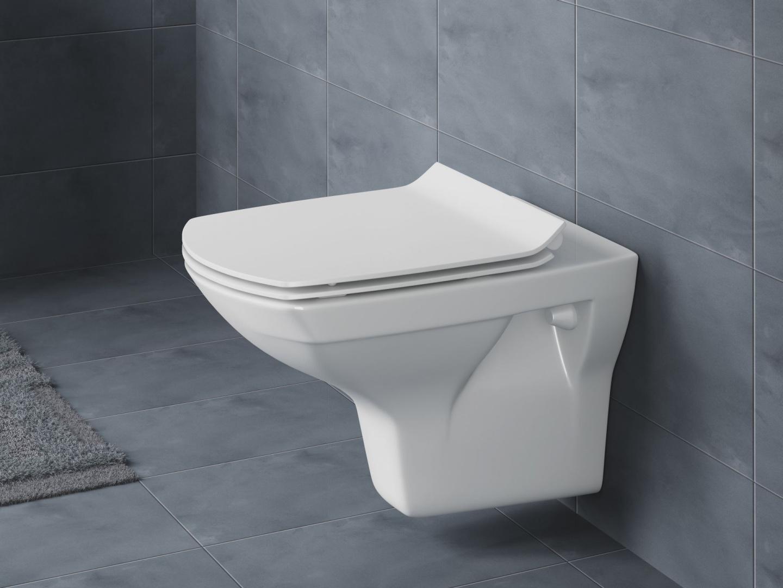 Deska toaletowa Slim One Button Easy-Off Cersanit/Rovese