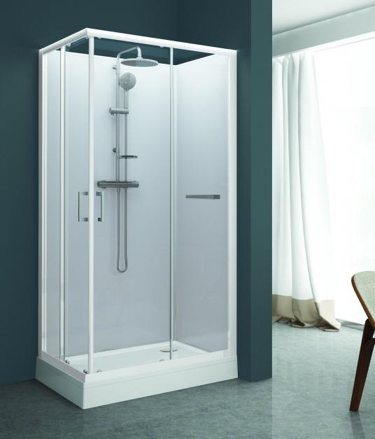 Kabina prysznicowa kompletna - KCKN/CLII/Sanplast