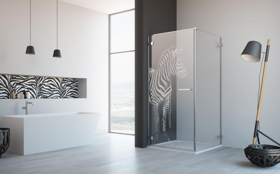 Kabiny prysznicowe z grawerem na szkle/Radaway