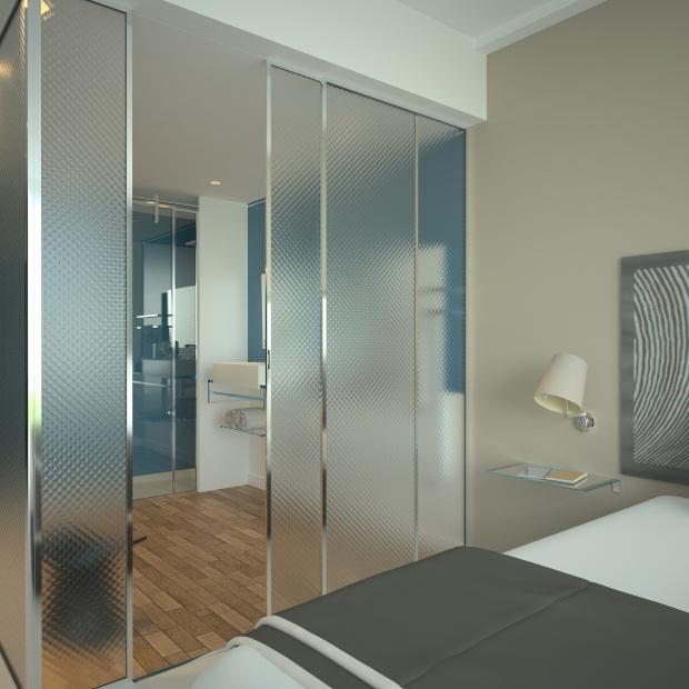 Szkło w aranżacji - nowe technologie z efektem 3D