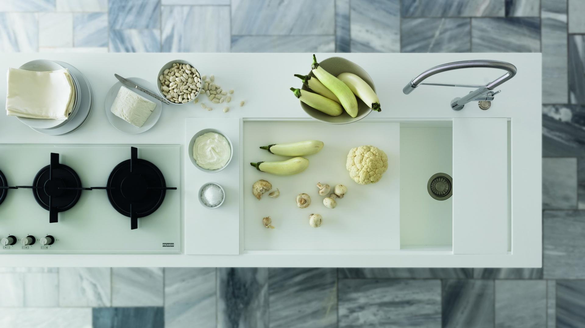 Blat kuchenny Solid Surface. Fot. Franke