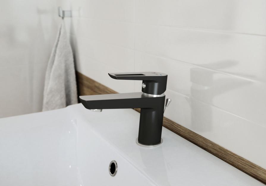 Seria armatury łazienkowej Mille Solution Cersanit/Rovese