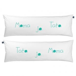 Poduszka One Pillow Mama Tata ja. Fot. Mr&Mrs Sleep