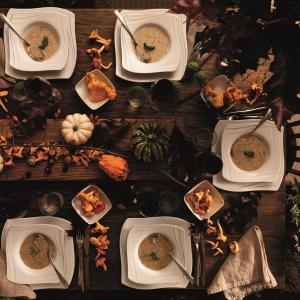 Piękna porcelana - jesienne inspiracje do jadalni