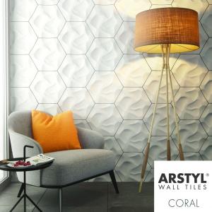 Detale ścienne do kreatywnej dekoracji ścian Wall Tiles dla nmc/Akademia Sztukaterii