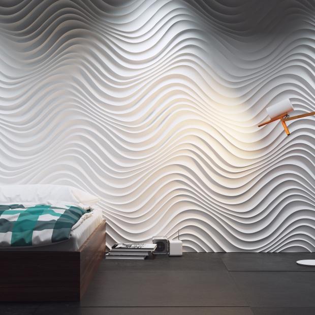 Panel Dekoracyjny 3D Curled/Dunes