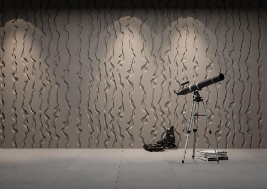 Panel Dekoracyjny 3D Vertical Lines/Dunes