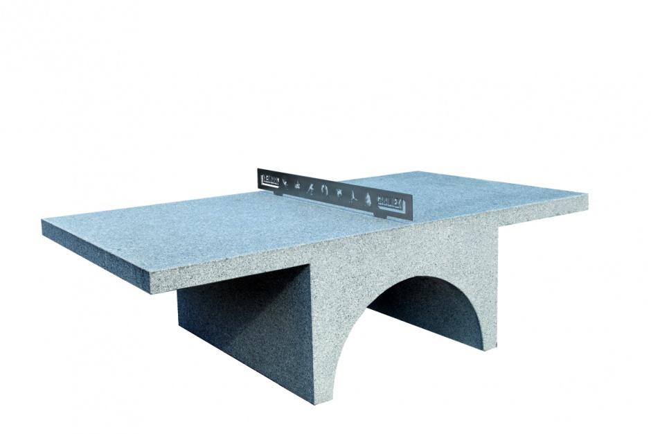 Komplet mebli i elementów małej architektury One Block/Granex