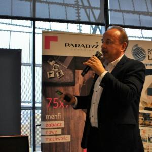 Dariusz Siekierzyński z firmy Kaldewei opowiedział o zaletach stali emaliowanej stosowanej w wannach, brodzikach i umywalkach.
