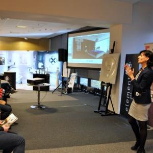Możliwości oprogramowania dla projektantów pokazała Anna Spalony z firmy CAD Projekt K&A.