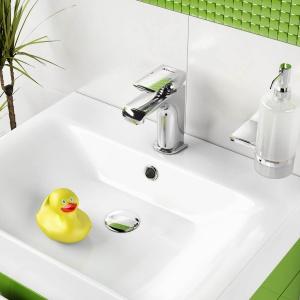 Wyposażenie łazienki. Zgrany duet: bateria i umywalka