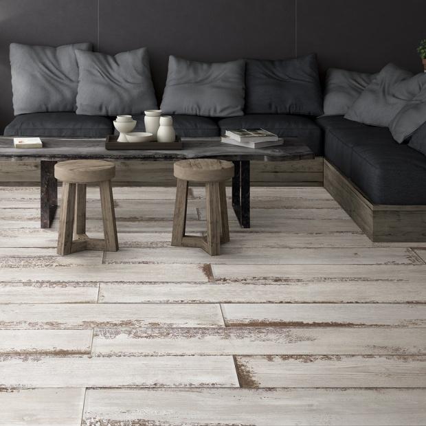 Płytki jak drewno - zobacz nową kolekcję do salonu