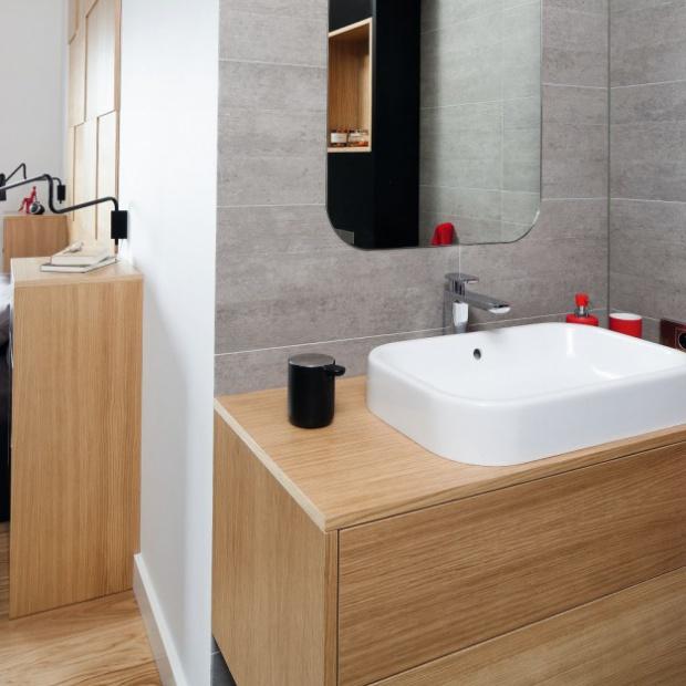 Projekt małej łazienki w bloku