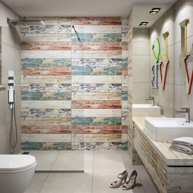Urządzamy łazienkę w stylu loft