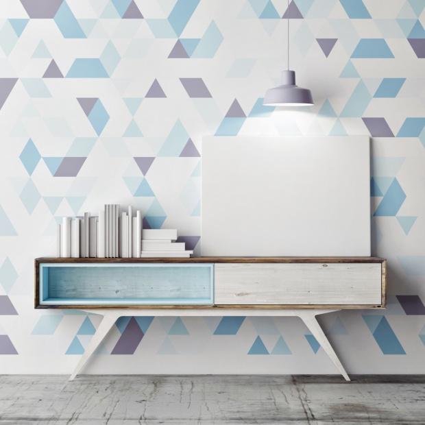Malowanie ścian. Zobacz, w jaki sposób wykonać geometryczne wzory