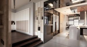 Projektując dla młodej pary, zamieszkującej to mieszkanie, architekci zmierzyli się z nie lada wyzwaniem. Było ono bowiem długie i wąskie, co zawsze stanowi pewną trudność w urządzaniu i organizowaniu przestrzeń. Circle Huang i Gina Chiu porad