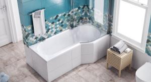 Czy mając małą łazienkę musimy rezygnować z wanny i prysznica? Oczywiście, że nie. Wystarczy wybrać odpowiednie wyposażenie iproblem zostanie rozwiązany.<br /><br /><br />