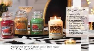 Cały czas trwa głosowanie dla konsumentów w konkursie Dobry Design 2017. Wybierz najlepszy zgłoszony produkt i zdobądź jedną z wyjątkowych świec marki Candle Yankee.