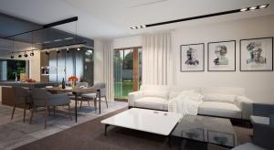 Asan to projekt idealny dla 4-osobowej rodziny doceniającej walory domów parterowych. Przykuwa uwagę harmonijną bryłą oraz prostotą detali.