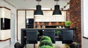 Od pewnego czasu prawdziwym aranżacyjnym hitem jest ściana z cegły. Niektórzy decydują się na wybór cegły w salonie czy przedpokoju, tymczasem może ona świetnie sprawdzić się, również w kuchni!
