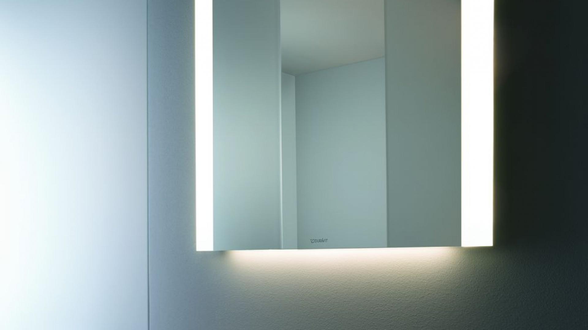 Lustra zintegrowane z oświetleniem. Fot. Duravit