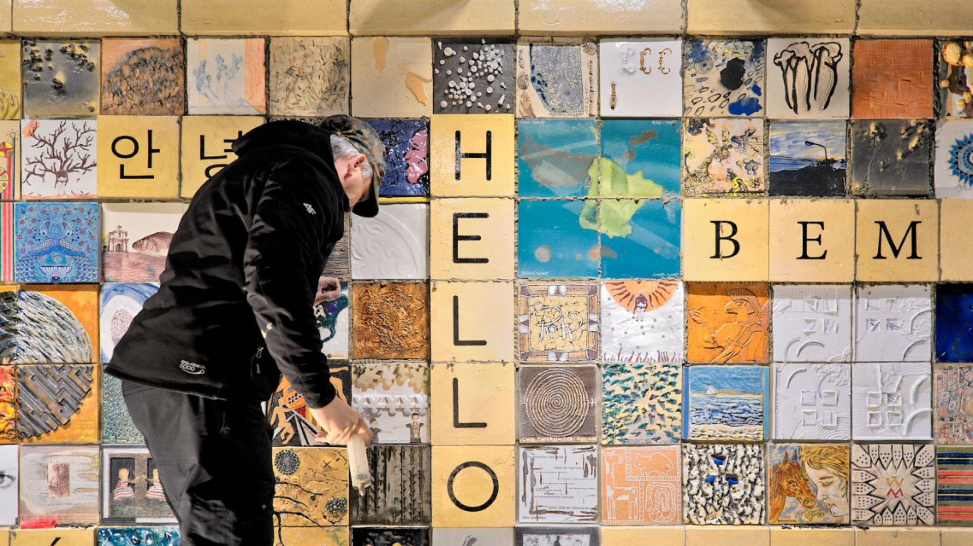 Międzynarodowy Mural Ceramiczny fot. mat ASP