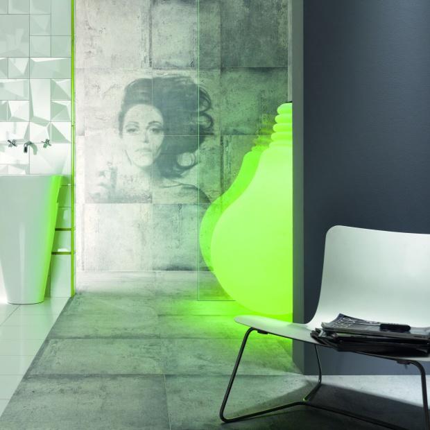 Dekoracje ścian - ceramiczne obrazy projektu Macieja Zienia