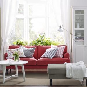 Sofa trzyosobowa Stocksund dostępna w ofercie marki IKEA. Projekt: Nike Karlsson. Cena: 1.899 zł. Fot. IKEA