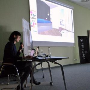 Anna Spalony z firmy CAD Projekt K&A pokazała jak w praktyce sprawdza się wykorzystanie oprogramowania tej firmy.
