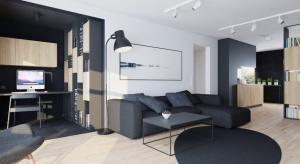 Istniejące mieszkanie w Lublinie poddano renowacji.Zobaczcie, jak w oryginalny sposób podzielono przestrzeń.