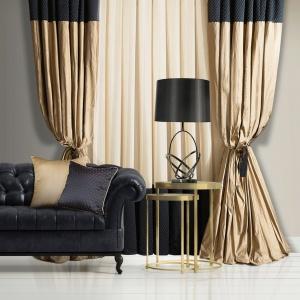 Kolekcja Black&Gold. Fot. Eurofirany