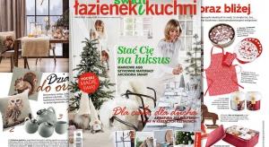 Najnowszy numer Świata Łazienek i Kuchni (6 2016) już w sprzedaży, a w nim, jak zawsze wiele ciekawy inspiracji oraz pomysłów na urządzenie kuchni i łazienki.