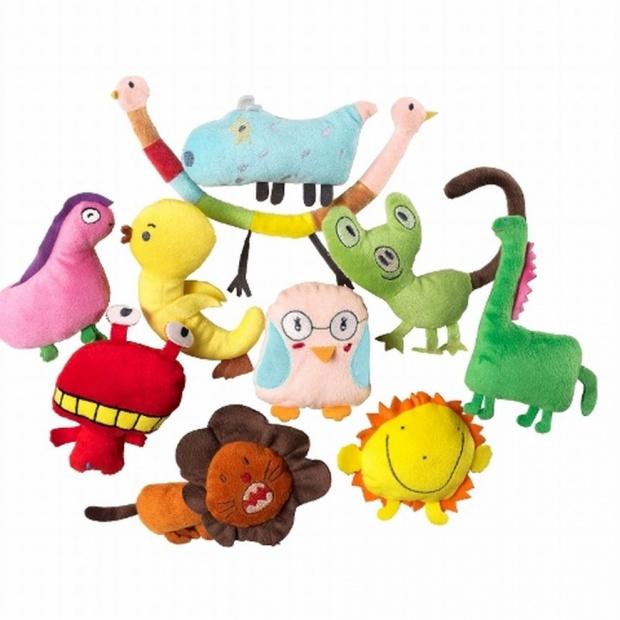 Pluszaki: zobacz zabawki zaprojektowane przez dzieci dla dzieci