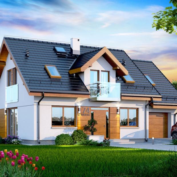 Raport: Jakie domy budują sobie Polacy