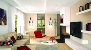 Nieco ponad stumetrowy dom: Iwo G1 to atrakcyjny i oszczędny budynek, który udowadnia, że prosty nie znaczy nudny. Klasyczne, prosta bryła z dwuspadowym dachem, kryje w sobie niezwykle nowoczesne i funkcjonalne wnętrze.