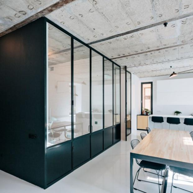 Mieszkanie w Moskwie w stylu loft