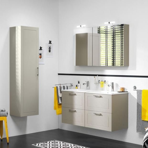 Kolor w łazience: wybierz żółty