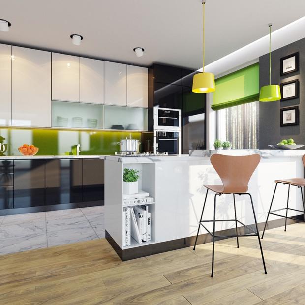 Otwarta kuchnia - zobacz co jest modne wśród budujących dom