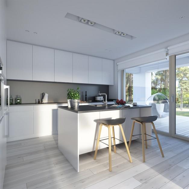 Projekt domu Dostępny 4A  Otwarta kuchnia  zobacz co