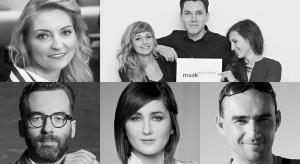 Dominika J. Rostocka, Anna Koszela, Adam Bronikowski, Łukasz Kos, Józek Madej -zapraszamy na spotkania z architektami 7 grudnia w trakcie Forum Dobrego Designu.