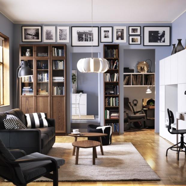 15 pomysłów do domowej biblioteki