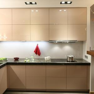 Mała kuchnia: funkcjonalna strefa zmywania. Projekt: PiK Studio. Fot. Bartosz Jarosz