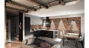 Jak ciekawie urządzić salon z kuchnią? Zobaczcie propozycje architekt Katarzyny Wróbel.