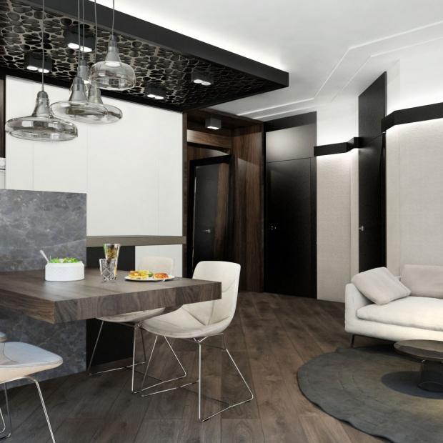 Piękny apartament w Częstochowie w kolorach ziemi