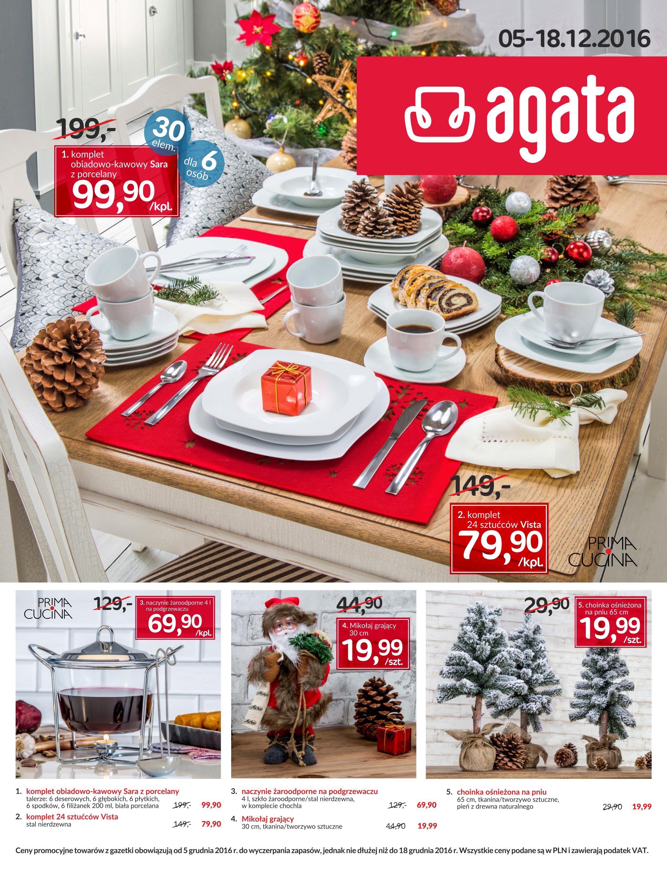 Aby obejrzeć aktualną gazetkę promocyjną marki Agata, przejrzyj galerię poniżej.