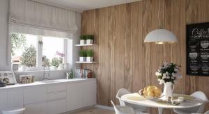 Panele dekoracyjne mogą być efektowną alternatywą dla farby i tapety. Z ich pomocą uzyskamy na ścianie modny efekt starej cegły, bielonej deski lub miedzianej blachy.