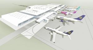 Projekt zakłada przebudowę istniejącego i budowę nowego skrzydła. Zakres prac dotyczy powierzchni prawie 2,2 tys. mkw. Autorami koncepcji rozbudowy jest pracownia ARE Stiasny&Wacławek, która zaprojektowała już obecny terminal Portu Lotnic