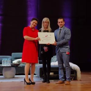 Nagrody w konkursie Dobry Design 2017 rozdane. Fot. Piotr Waniorek.